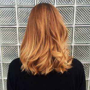 CFH Care For Hair haartrends lente 2018 Strawberry Blonde
