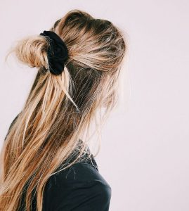 CFH Care For Hair haartrends lente 2018 scrunchie