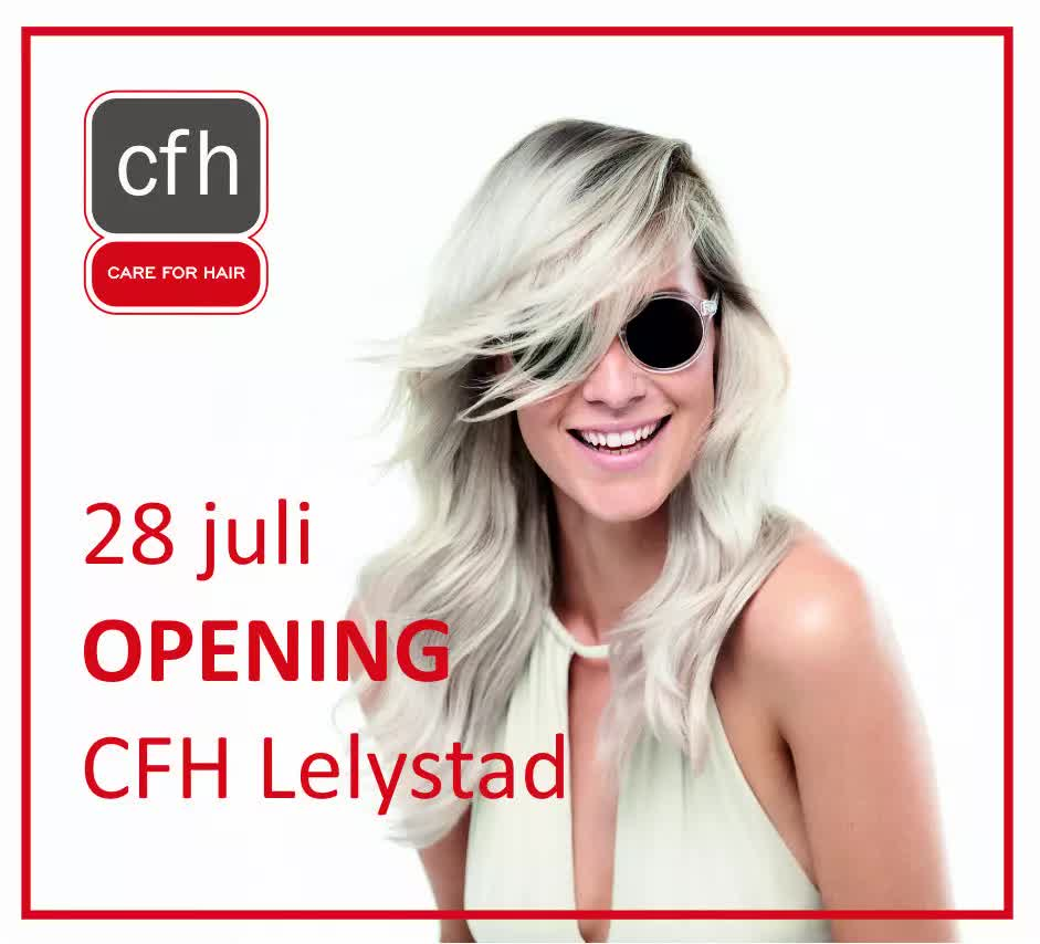 CFH Lelystad Kapper Kapsalon Care For Hair Keune kleurexpert Warande