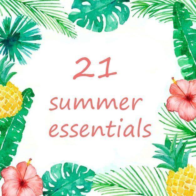 CFH Care For Hair 21 Summer Essentials