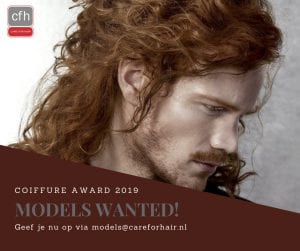 Coiffure Award 2019 CFH Care For Hair Models Wanted